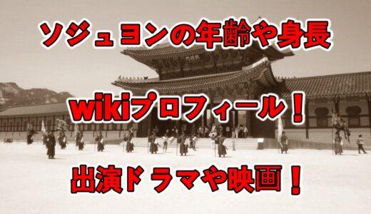 ソジュヨンの年齢や身長等のwikiプロフィール!出演ドラマや映画について!