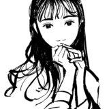 黒髪美女のイメージ